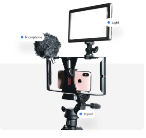 Recording App and Filming Kit