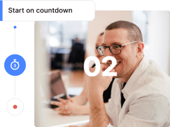 Countdown to Screen Record