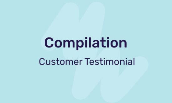 compilation customer testimonial video template