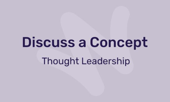 discuss a concept - thought leadership