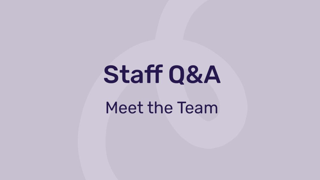 staff Q&A meet the team